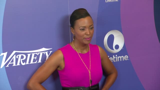Aisha Tyler at Variety's 5th Annual Power of Women Event in Beverly Hills CA on 10/4/13