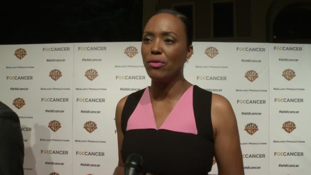 INTERVIEW Aisha Tyler on the event at Barbara Berlanti Heroes Gala Benefitting FCancer in Los Angeles CA