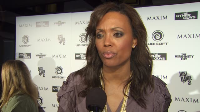 Aisha Tyler on what brings her out to the Maxim party at the Maxim Ubisoft And Sony Pictures Celebrate The Cast Of 'The Other Guys' at San Diego CA