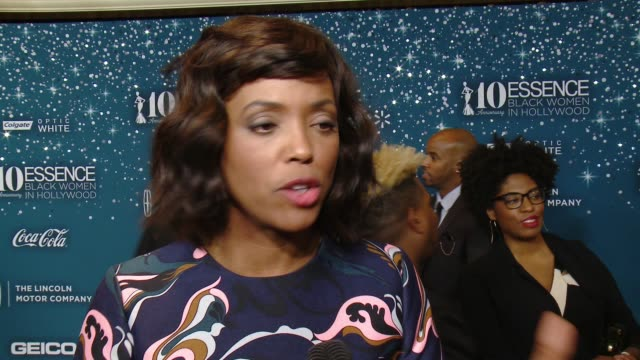 INTERVIEW Aisha Tyler on what makes it the place to be each year at ESSENCE Presents 10th Anniversary Black Women in Hollywood Awards Gala in Los...