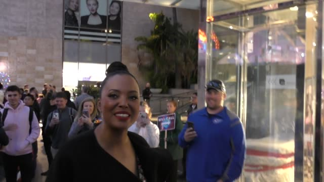 INTERVIEW Aisha Tyler talks about next season of Archer outside Captain Marvel Premiere at Dolby Theatre in Hollywood in Celebrity Sightings in Los...