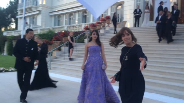 Aishwarya Rai at amfAR 22nd Cinema Against AIDS Reception at Hotel du CapEdenRoc on May 21 2015 in Cap d'Antibes France