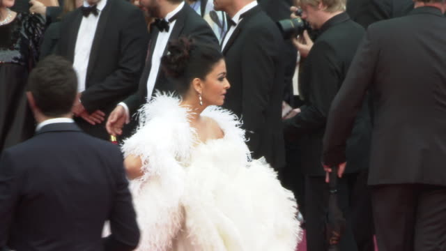 Aishwarya Rai at 'La Belle Epoque' Red Carpet Arrivals The 72nd Cannes Film Festival at Palais des Festivals on May 20 2019 in Cannes France
