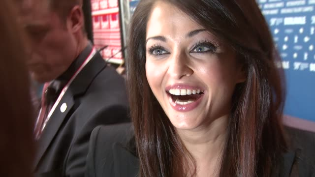 Aishwarya Rai at the 59th Berlin Film Festival Pink Panther 2 Press Conference at Berlin