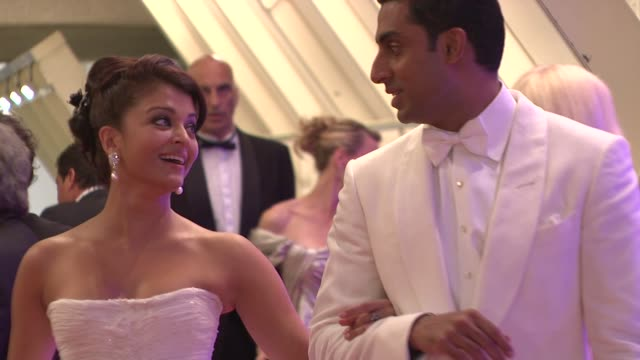 Aishwarya Rai Bachchan and Abhishek Bachchan at the Cannes Film Festival 2009 Gala Dinner Arrivals at Cannes