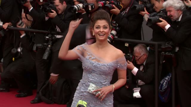 Aishwarya Rai Bachchan at the Robin Hood Red Carpet Cannes Film Festival 2010 at Cannes