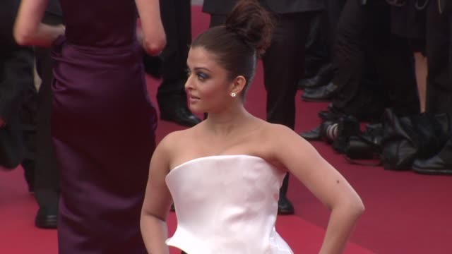 Aishwarya Rai Bachchan at the Sleeping Beauty Premiere 64th Annual Cannes Film Festival at Cannes