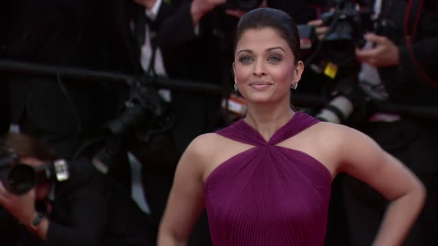 Aishwarya Rai Bachchan at the Wall Street Money Never Sleeps Red Carpet Cannes Film Festival 2010 at Cannes