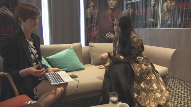 Aishwarya Rai Bachchan on 'Sarbjit' Interview at JW Marriott on May 15 2016 in Cannes France