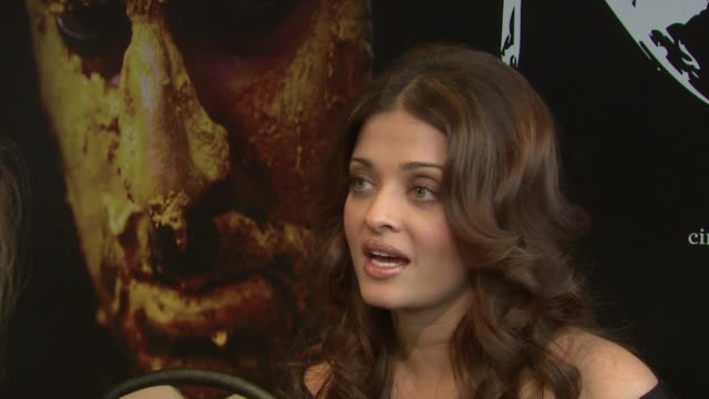 Aishwarya Rai Bachchan on what an actor looks for in a film at the Raavan Event and Interviews Cannes Film Festival 2010 at Cannes