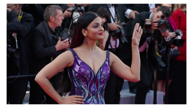 Aishwarya Rai on the red carpet of 'Girls Of The Sun' during the 71st Cannes Film Festival on May 8 2018 in Cannes France