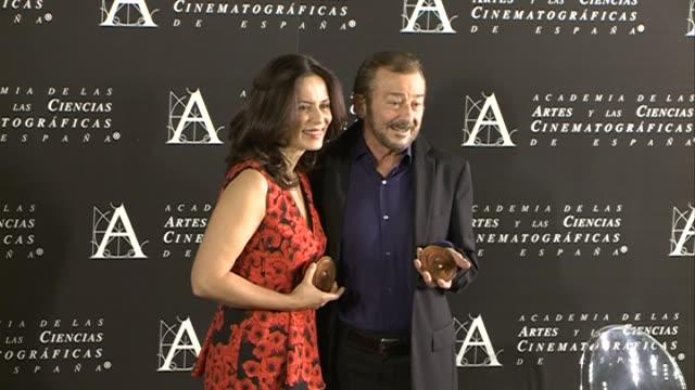 Aitana SanchezGijon and Juan Diego attends the Golden Medal 2015 ceremony