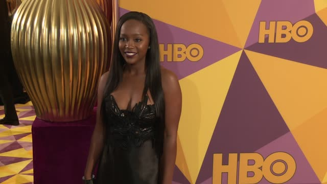 Aja Naomi King at the HBO Post Golden Globes Party at Circa 55 Restaurant on January 07 2018 in Los Angeles California