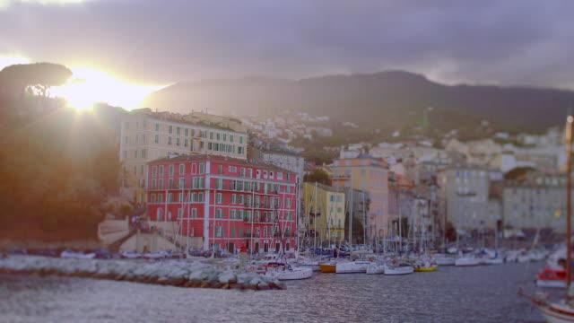 Ajaccio port, T/S Sunset, Corsica