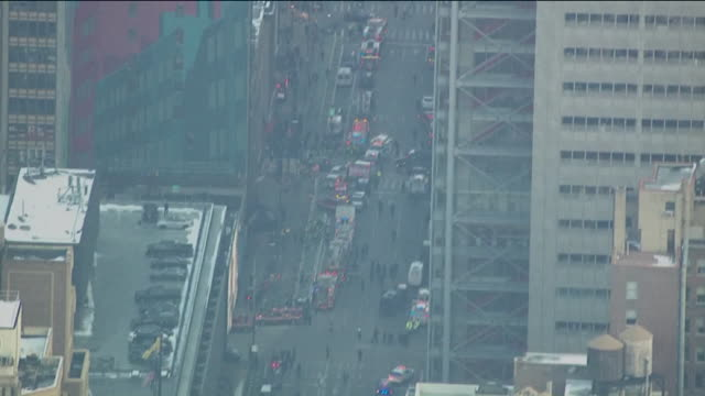 wpix akayed ullah detonated an improvised explosive device in a passageway underneath 42nd street in manhattan that connects the subway stations at... - port authority stock videos & royalty-free footage