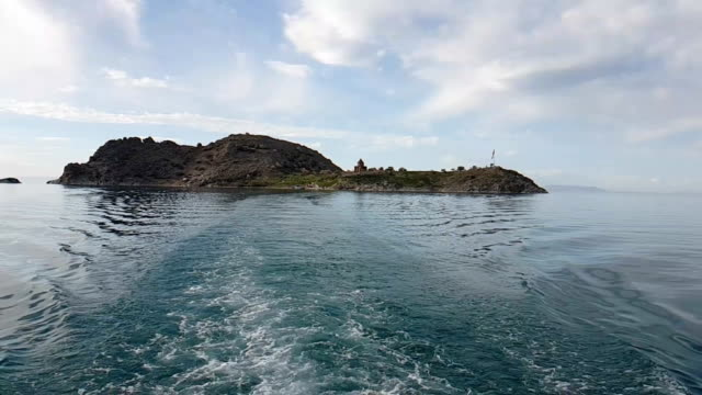 akdamar island - lake van stock videos and b-roll footage