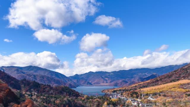 akechidaira plateau observation area lake chuzenji close up nikko,japan - kanto region stock videos & royalty-free footage