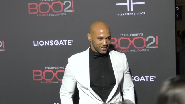 Akende Munalula at Lionsgate Presents The Los Angeles Premiere of Tyler Perry's 'Boo 2 A Madea Halloween' at LA LIVE on October 16 2017 in Los...