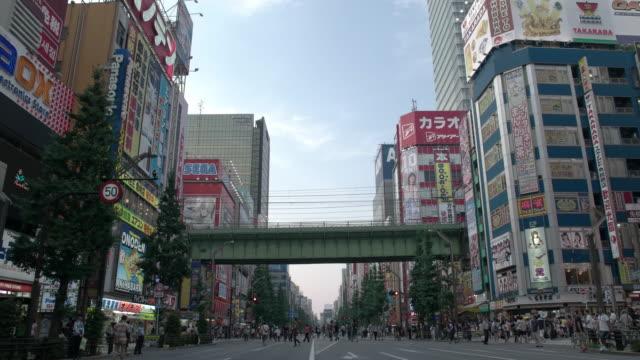 Akibahara Pedestrian Area. Tokyo, Japan