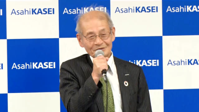 akira yoshino, an honorary fellow with asahi kasei corp., is one of three co-recipients of this year's nobel prize in chemistry for developing the... - lithium ion battery stock videos & royalty-free footage