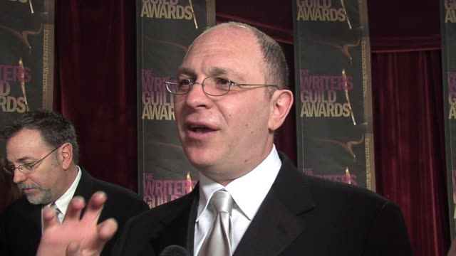 akiva goldsman on his process for writing an adapted screenplay, being nervous about what people will think about da vinci code, and on being a part... - the da vinci code stock videos & royalty-free footage
