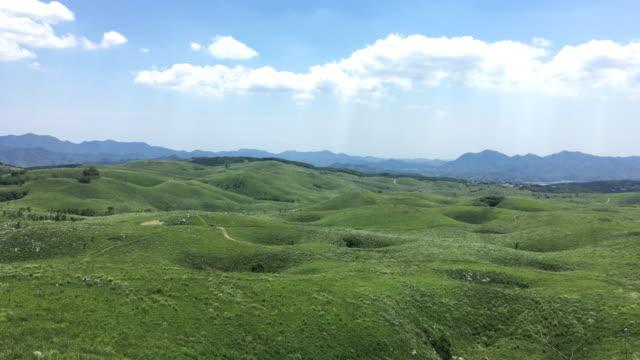akiyoshidai - grasland stock-videos und b-roll-filmmaterial