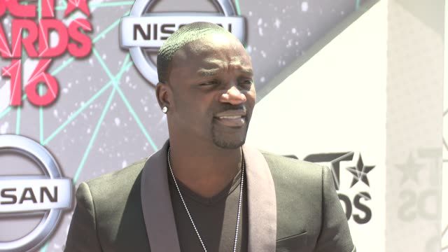 Akon at 2016 BET Awards in Los Angeles CA