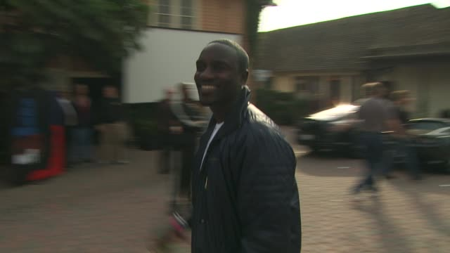 akon at the we are the world 25th anniversary recording for haitian earthquake relief at los angeles ca - 25th anniversary stock videos and b-roll footage