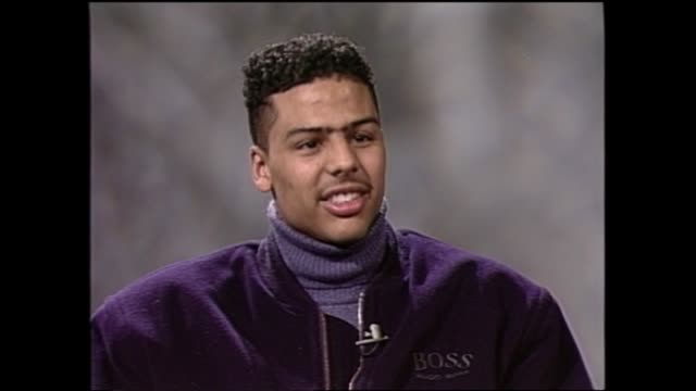 Al B Sure interview from 1988 Pt 2