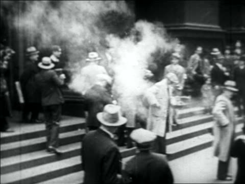 al capone entering building with crowd in front - 1931 stock videos and b-roll footage