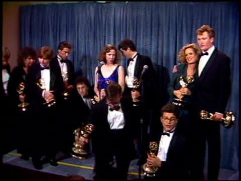 Al Franken at the 1989 Emmy Awards Backstage at the Pasadena Civic Auditorium in Pasadena California on September 17 1989