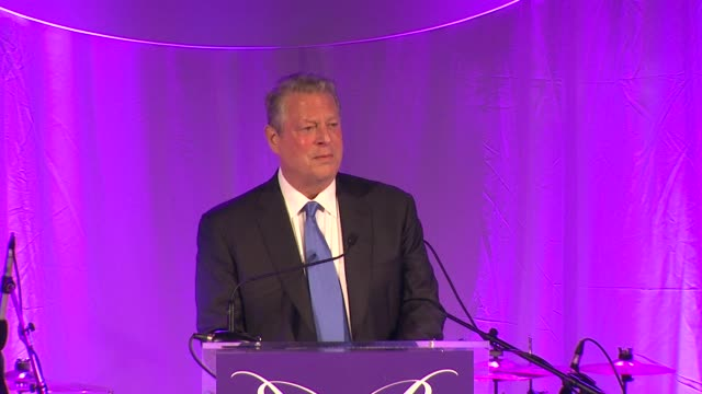 speech al gore at 13th annual chrysalis butterfly ball in los angeles ca - gore stock videos and b-roll footage