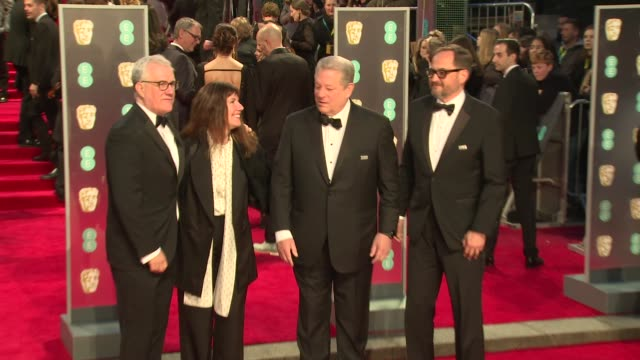 Al Gore at Royal Albert Hall on February 18 2018 in London England