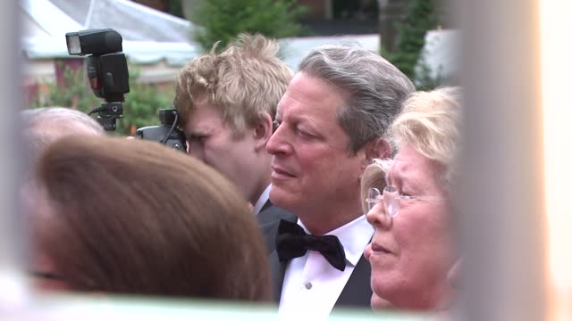 al gore at the the wildlife conservation society safari! india gala at new york ny. - wildlife conservation stock videos & royalty-free footage