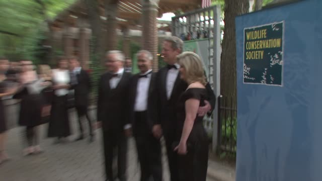 Al Gore Tipper Gore at the The Wildlife Conservation Society Safari India Gala at New York NY