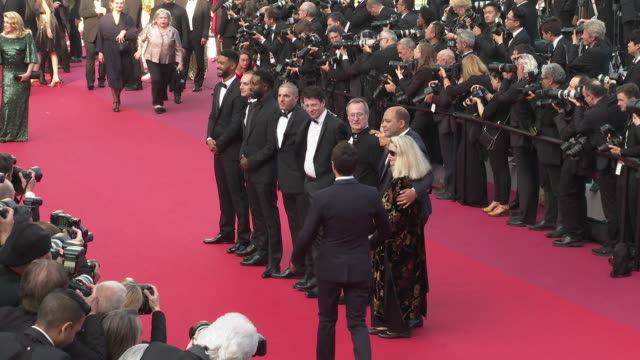 Al Hassan Ly Ladj Ly Issa Perica Damien Bonnard Giordano Gederlini Toufik Ayadi at 'Closing Ceremony ' The 72nd Cannes Film Festiva on May 25 2019 in...