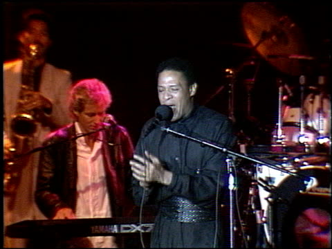 Al Jarreau at the City of Hope Salute to Bill Graham at the Bonaventure Hotel in Los Angeles California on July 9 1987