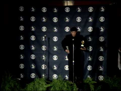 best traditional randb vocal performance at the 2007 grammy awards press room at staples center in los angeles california on february 11 2007 - al jarreau stock videos & royalty-free footage