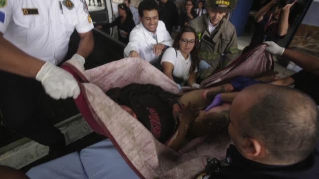 al menos 19 jovenes guatemaltecos murieron el miercoles en un incendio en el llamado hogar seguro virgen de la asuncion un refugio para victimas de... - niños stock videos & royalty-free footage