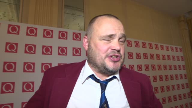 INTERVIEW Al Murray on the awards Jake Buggs speech at Q Awards 2013 at The Grosvenor House Hotel on October 21 2013 in London England