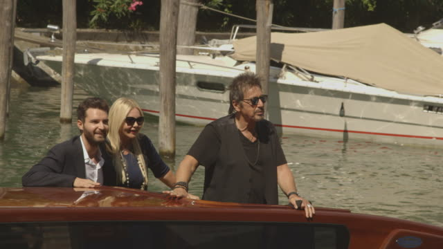 al pacino at celebrity sightings in venice 71st venice international film festival on august 30 2014 in venice italy - al pacino stock videos & royalty-free footage