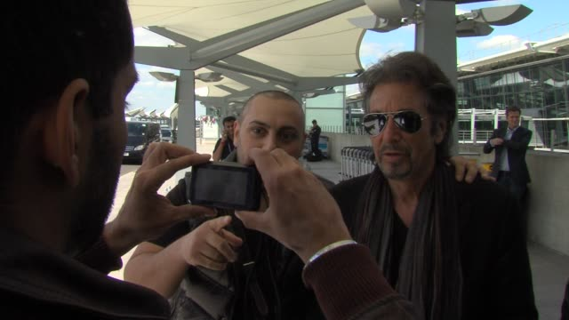 Al Pacino at Celebrity Video Sightings on June 03 2013 in London England