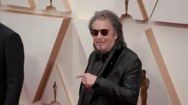 slomo al pacino at dolby theatre on february 09 2020 in hollywood california - al pacino stock videos & royalty-free footage