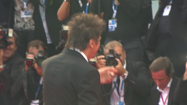 al pacino at 'manglehorn' red carpet 71st venice international film festival at palazzo del casino on august 30 2014 in venice italy - al pacino stock videos & royalty-free footage