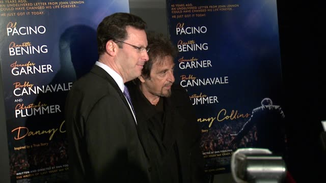 Al Pacino at New York Premiere of Bleeker Street's Danny Collins at AMC Lincoln Square Theater on March 18 2015 in New York City