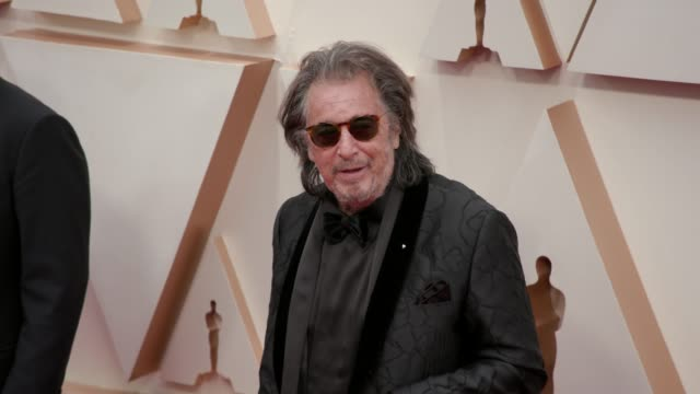 al pacino at the 92nd annual academy awards at dolby theatre on february 09 2020 in hollywood california - al pacino stock videos & royalty-free footage