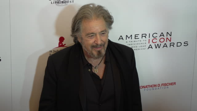 al pacino at the american icon award at regent beverly wilshire hotel on may 19 2019 in beverly hills california - al pacino stock videos & royalty-free footage