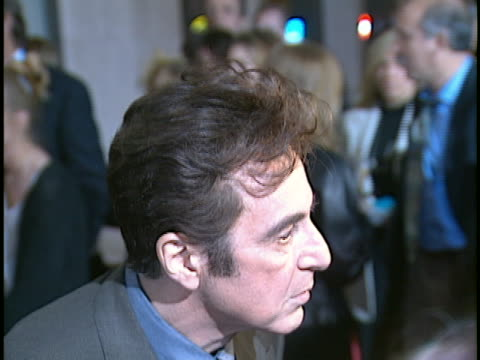 al pacino at the donnie brasco premiere at century city in century city ca - al pacino stock videos & royalty-free footage