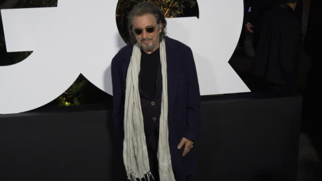 al pacino at the gq men of the year 2019 celebration on december 05 2019 in west hollywood california - al pacino stock videos & royalty-free footage