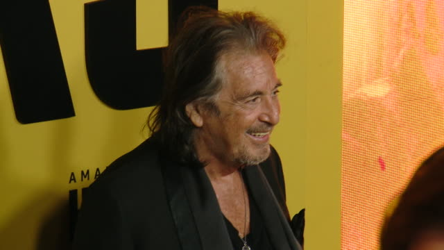 al pacino at the world premiere of amazon original hunters at dga theater on february 19 2020 in los angeles california - al pacino stock videos & royalty-free footage